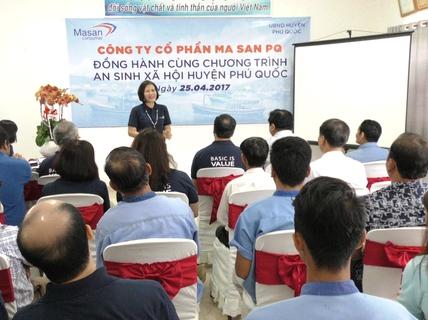 Ma San PQ đồng hành cùng chương trình an sinh xã hội