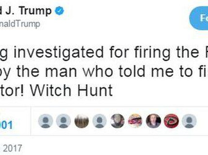 Thông điệp Twitter bất ngờ của ông Donald Trump