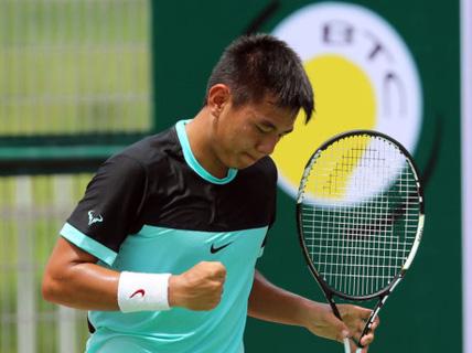 Hoàng Nam vô địch đôi nam ở Trung Quốc