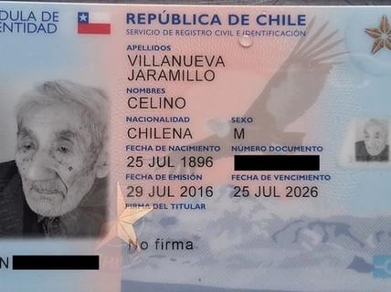 "Gặp cụ ông ""121 tuổi"" tại Chile"