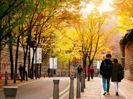 Con đường dính lời nguyền chia tay người yêu ở Hàn Quốc