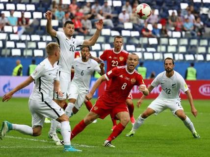 Confed Cup: Chủ nhà Nga hạ New Zealand trận khai mạc