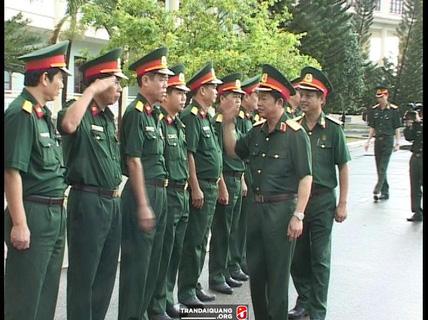 Hỗ trợ đóng BHXH cho sĩ quan sắp nghỉ hưu
