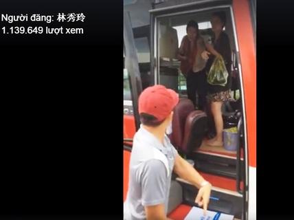 Xôn xao việc nhà xe đuổi du khách nước ngoài giữa đường
