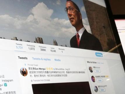 Trung Quốc quyết truy nã tỉ phú lưu vong tại Mỹ