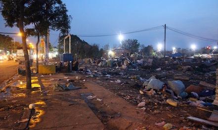 Kêu trời với bãi thu gom rác gây ô nhiễm