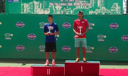 Nguyễn Văn Phương vô địch Giải U18 ITF