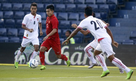 U23 Việt Nam theo đuổi lối chơi 3-4-3