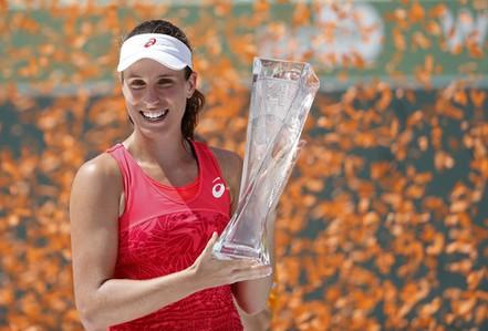 """Konta vô địch Miami Open từ """"hiệu ứng Murray"""""""