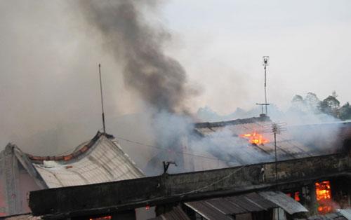 Vĩnh Long: Cháy chợ cái Nhum