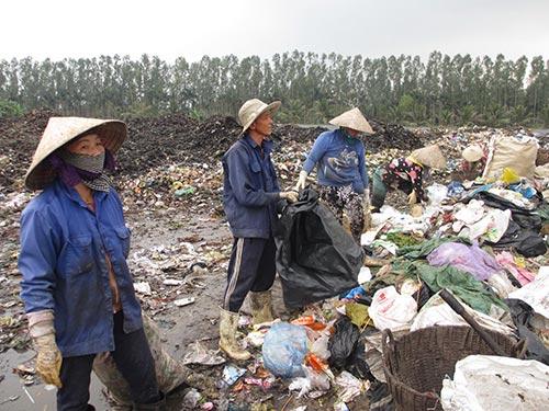 Bãi rác Tân Long gây ô nhiễm môi trường trầm trọng sắp bị đóng cửa