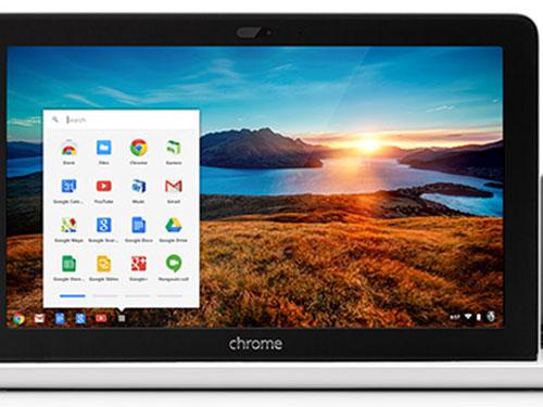 Mẫu Chromebook 11 inch của HP, sạc bằng micro USB và có giá chỉ 279,99 USD Nguồn: Google