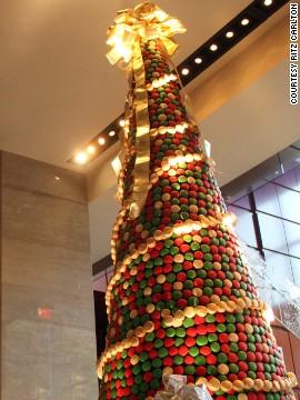 Cây thông Noel có thể ăn được. Ảnh: CNN