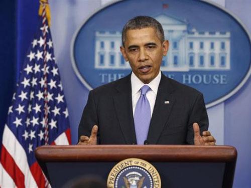"""Tại cuộc họp báo cuối năm, Tổng thống Barack Obama khẳng định: """"2014 sẽ là năm của hành động""""Ảnh: REUTERS"""