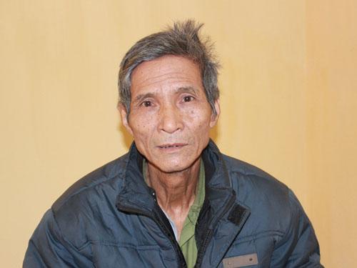 Ông Hoàng Văn Miễn tại cơ quan điều tra