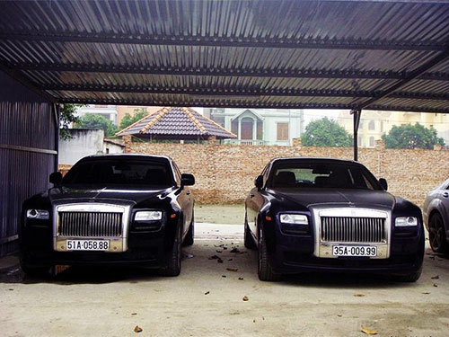 2 trong 7 chiếc Rolls-Royce của bầu Thụy Ảnh: Lâm Thỏa