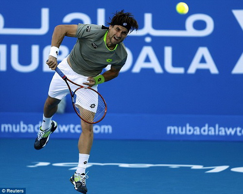 David Ferrer đánh bại đồng hương Rafa Nadal