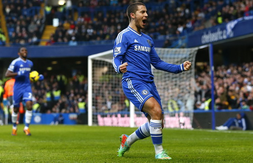 Hazard ghi bàn duy nhất cho Chelsea