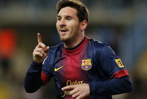 Messi vẫn là gương mặt sáng giá ở các cuộc bình chọn của năm 2013