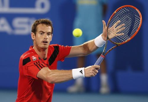 Murray xếp hạng 5 ở Dubai