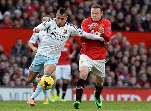 Rooney tỏa sáng dù không ghi bàn ở trận đấu với West Ham