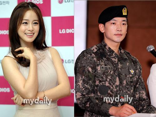 Bi Rain và Kim Tae Hee, cả hai đang hẹn hò