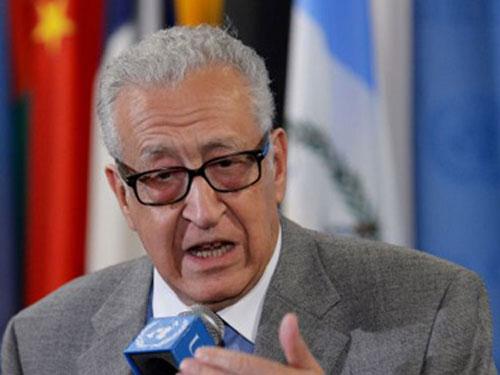 Đặc phái viên quốc tế về Syria Lakhdar Brahimi
