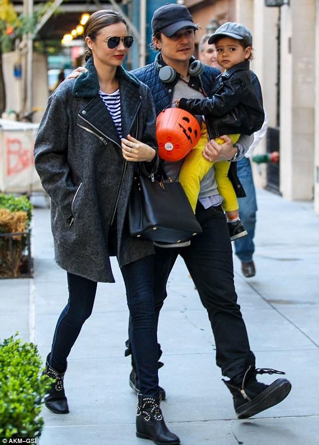 Orlando Bloom, Miranda và con trai Flynn