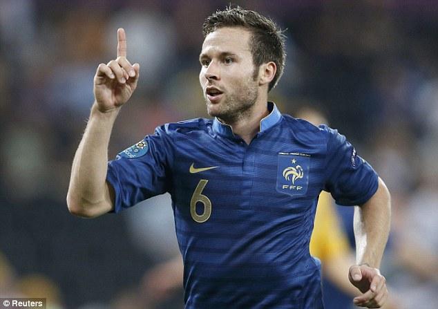 Cabaye cần giữ phong độ trong đội hình tuyển Pháp