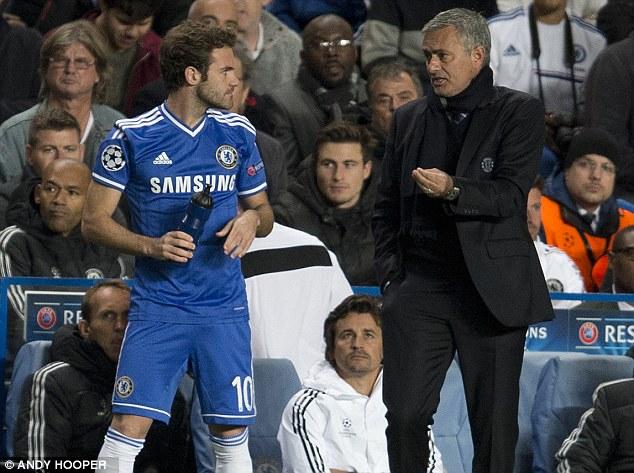 Mata ít được trọng dụng ở Chelsea kể từ khi HLV Mourinho trở lại