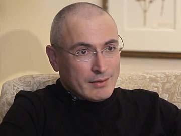 Cựu tỷ phú Mikhail Khodorkovsky xin được đến Thụy Sĩ để đoàn tụ gia đình. Ảnh: AP