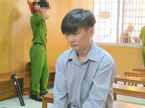 Bị cáo Kha Cư tại TAND TP HCM ngày 25-12