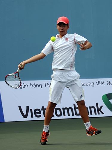 Nguyễn Đắc Tiến, tay vợt trẻ nhiều triển vọng của Hà Nội