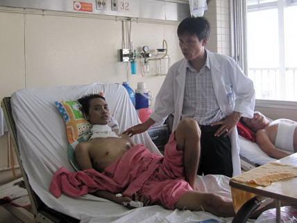 Bệnh nhân đang điều trị