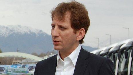 Ông Babak Zanjani. Ảnh: BBC