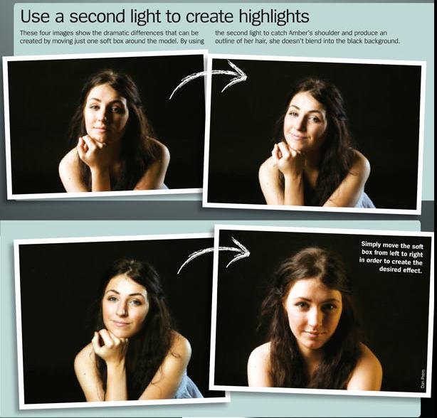 7-bFree portrait lighting cheat sheet.