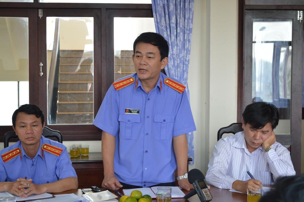 Ông Phan Thanh Hải, Phó viện trưởng VKSND tỉnh Đắk Nông cho rằng không có cơ sở để xác định Hùng nhận hoa hồng 130 tỉ đồng