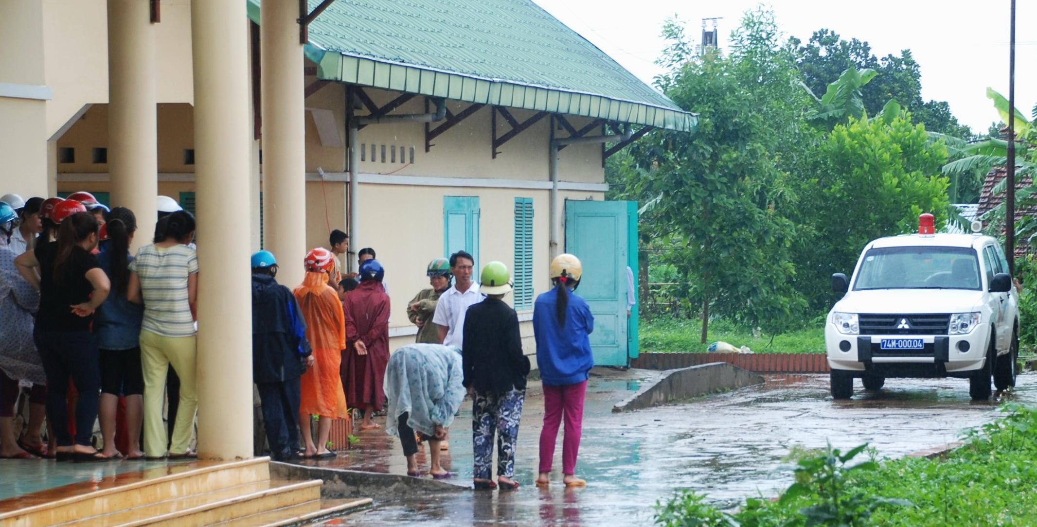 Cháu bé Nguyễn Đình Đạo, 1 trong 3 đứa trẻ sơ sinh tử vong được đưa về nhà.