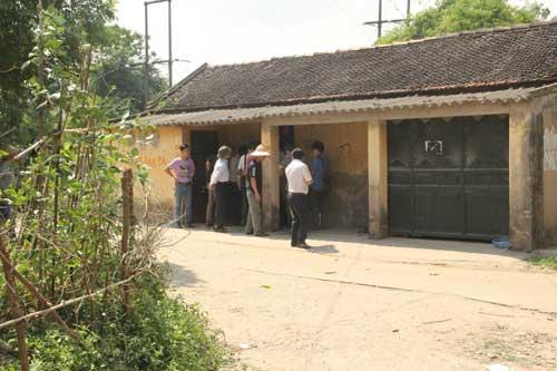 Ngôi nhà bà Phương Thị Xa thuê trọ - nơi xảy ra vụ án mạng.