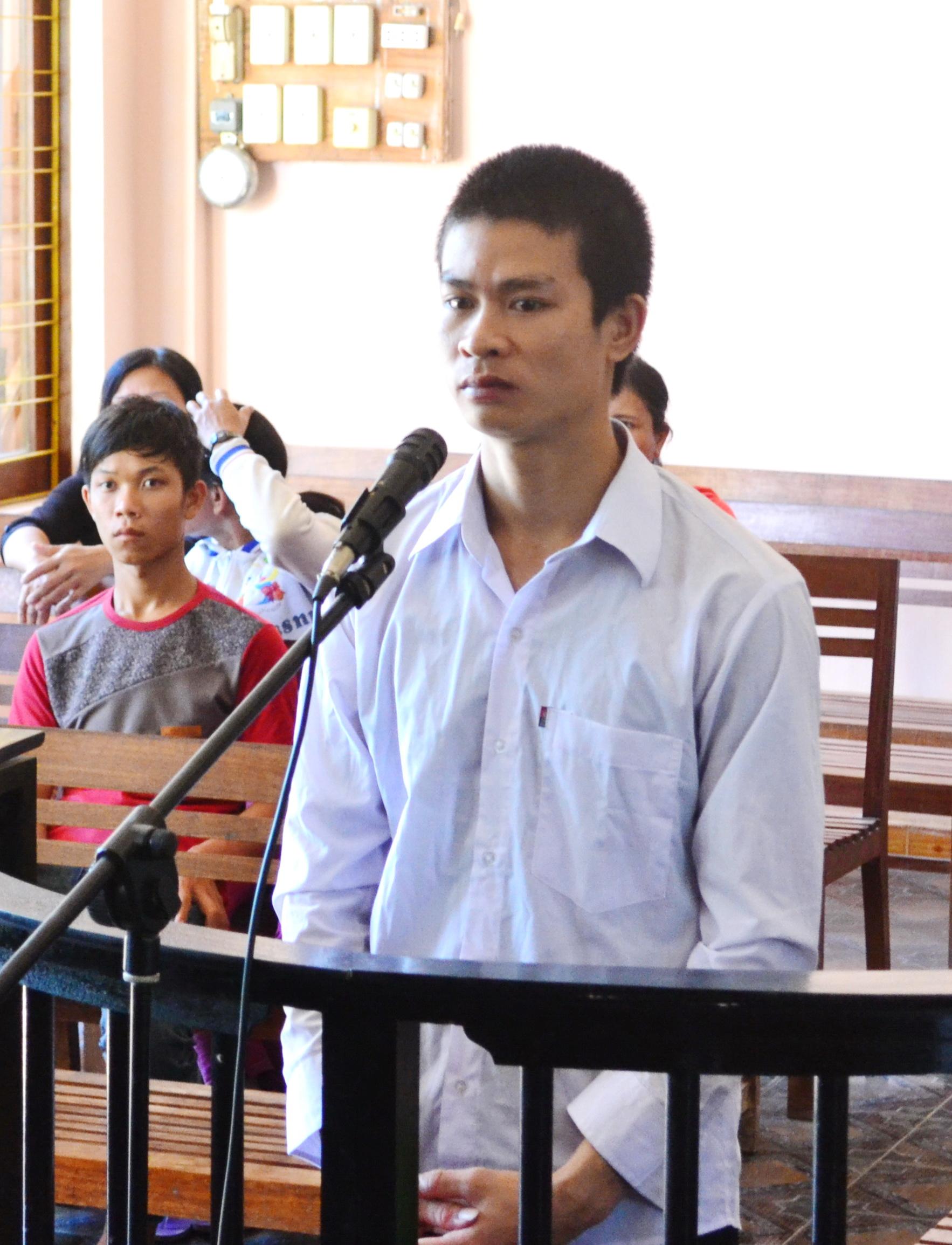 Võ Xuân Nhân tại phiên tòa