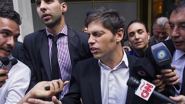 """Argentinas economy minister Axel Kicillof said Argentina would continue to deny what he calls """"vultures"""" full repayment."""