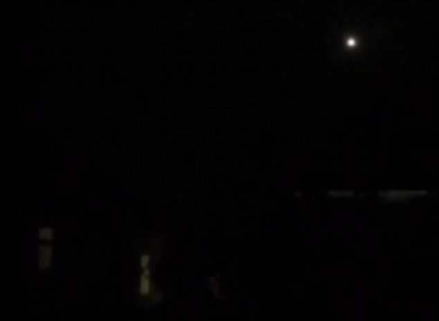 Unexplained: The couple are adamant that the light could not have been the moon or a passing plane