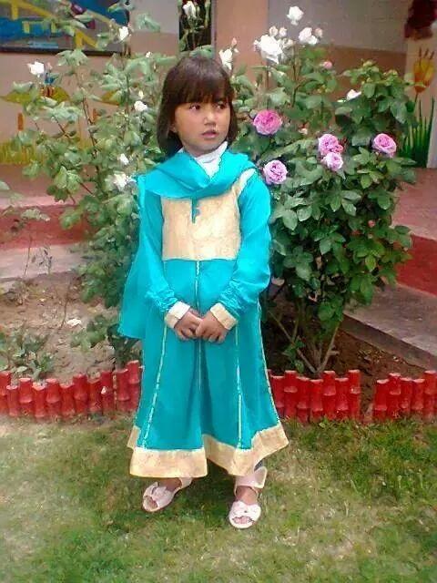Cô bé Sahar Batool. Ảnh: Twitter