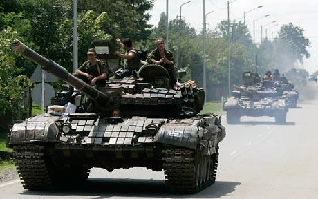 Ảnh minh họa xe tăng Nga. Ảnh: Live Leak