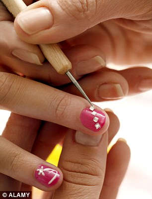 A woman diagnosed with an advanced HIV infection may have caught it by sharing manicure equipment with a cousin who didnt realise she was HIV-positive