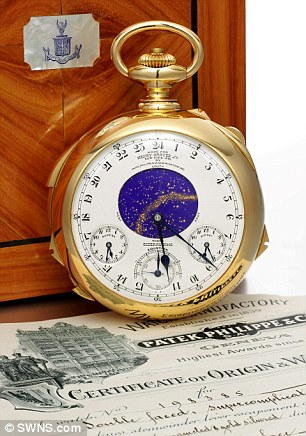 Banker Henry Graves commissioned the Holy Grail of watches (pictured) only to suffer its curse