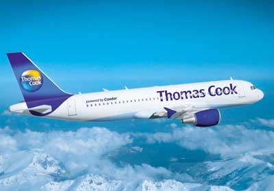 Một máy bay của hãng Thomas Cook. Ảnh: Airport-parking