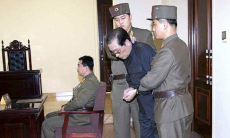 Ông Jang Song-thaek bị xử tử tháng 12-2013, theo sau là hàng loạt tay chân thận cận của ông. Ảnh: Yonhap