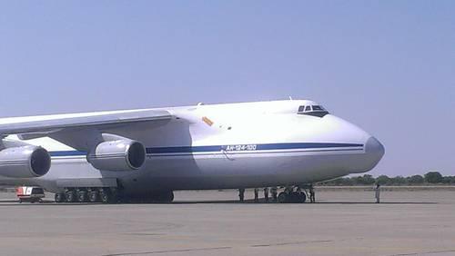 quân đội Nigeria đã bắt giữ một máy bay chở hàng của Nga. Ảnh: Nigerian Monitor