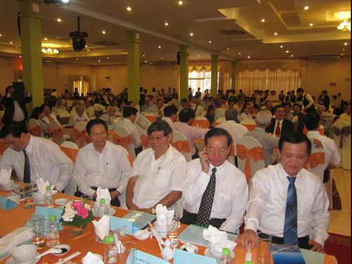Họp mặt đồng hương Quảng Nam tại TP HCM. Ảnh: Hội đồng hương Quảng Nam